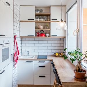 <p>Como ganhar espaço na sua cozinha pequena</p>