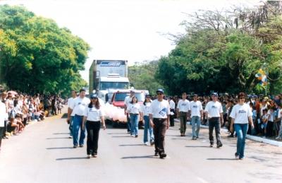 Desfile de Aniversário da cidade de Amambai - MS