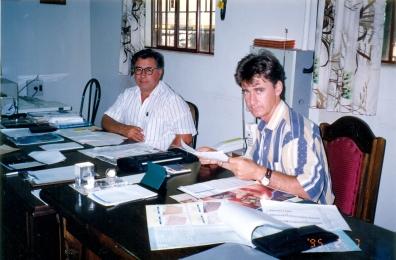 Mário Gazin e Antônio Gazin