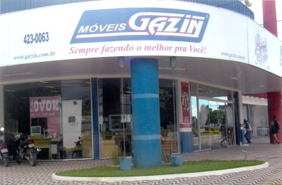Loja Gazin em Ji - Paraná - RO