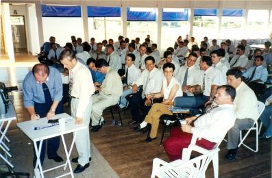 1º Reunião dos Gerentes